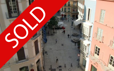 Apartment in the old town, Malaga – Sold